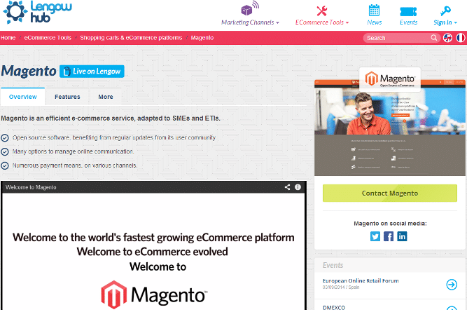Magento Lengow Hub screenshot-small
