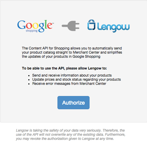 3_Google Shopping_Authorize