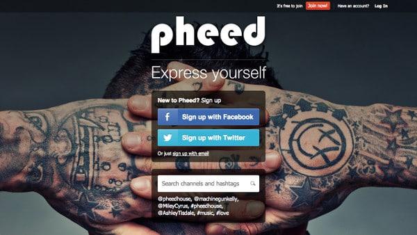 pheed-home