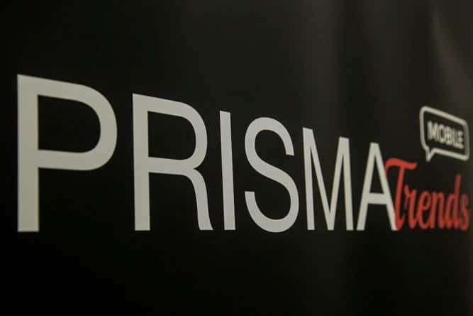 Prisma Trends Mobile in text