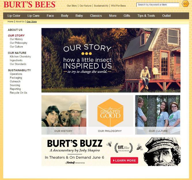 Burt's Bees' Story