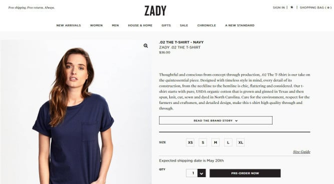 Zady_product_description