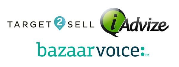 target2sell_iadvize_bazaarvoice