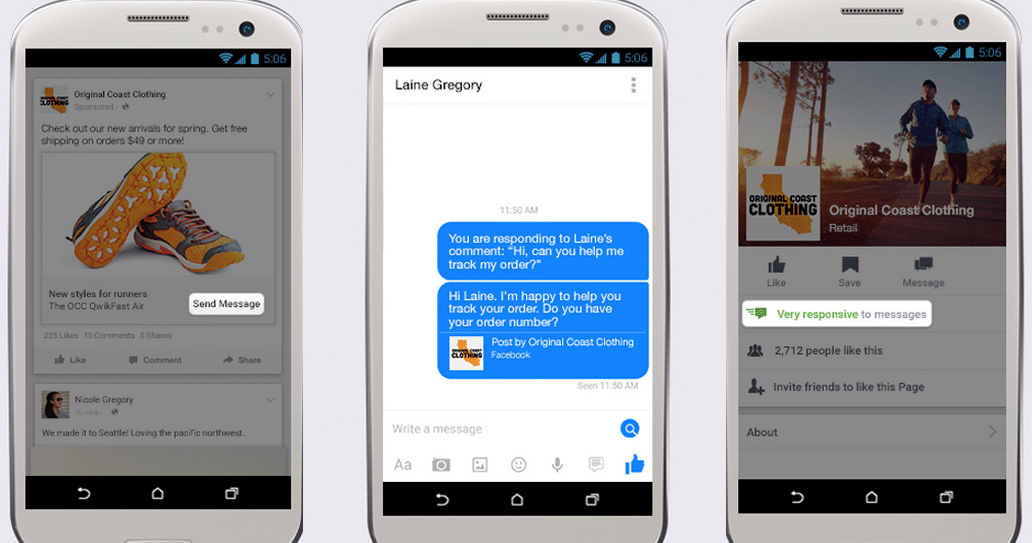 FB Business Messenger