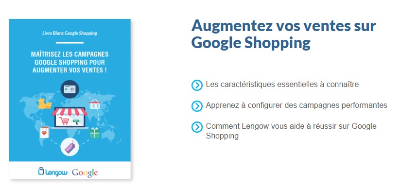 Livre blanc sur Google Shopping Shopping campaigns