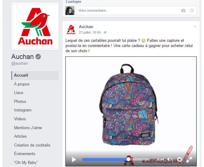 Facebook_auchan_rentree_video