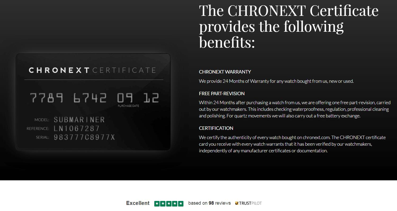 chronext-cert