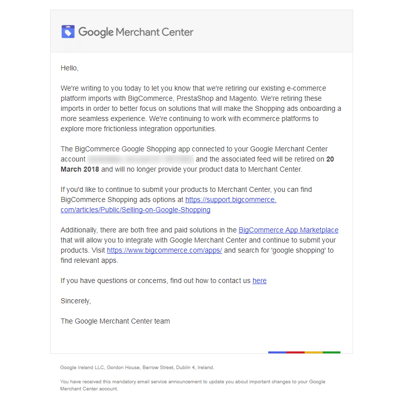 google-merchant-center-email