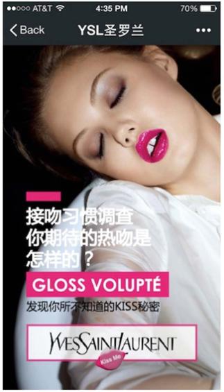 WeChat YSL