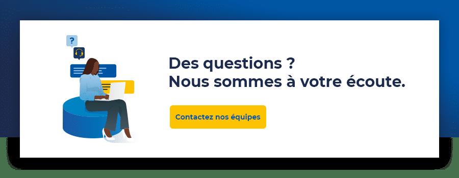 Demande de contact FR