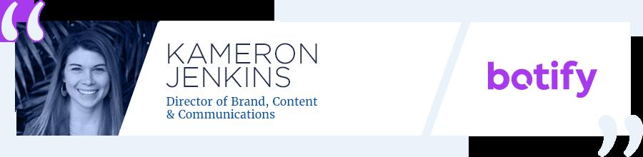 Kameron Jenkins - Botify