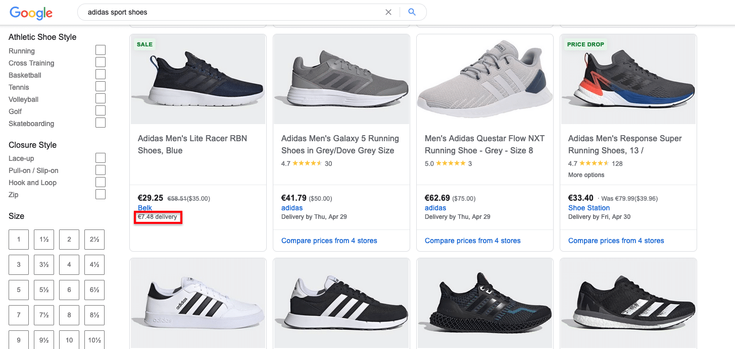 Picture_Google Shopping_Price